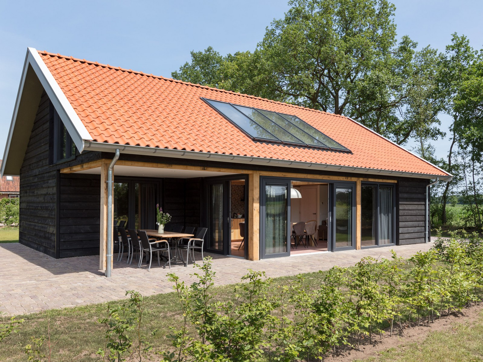Kapshoeve accommodatie Twente Lodge