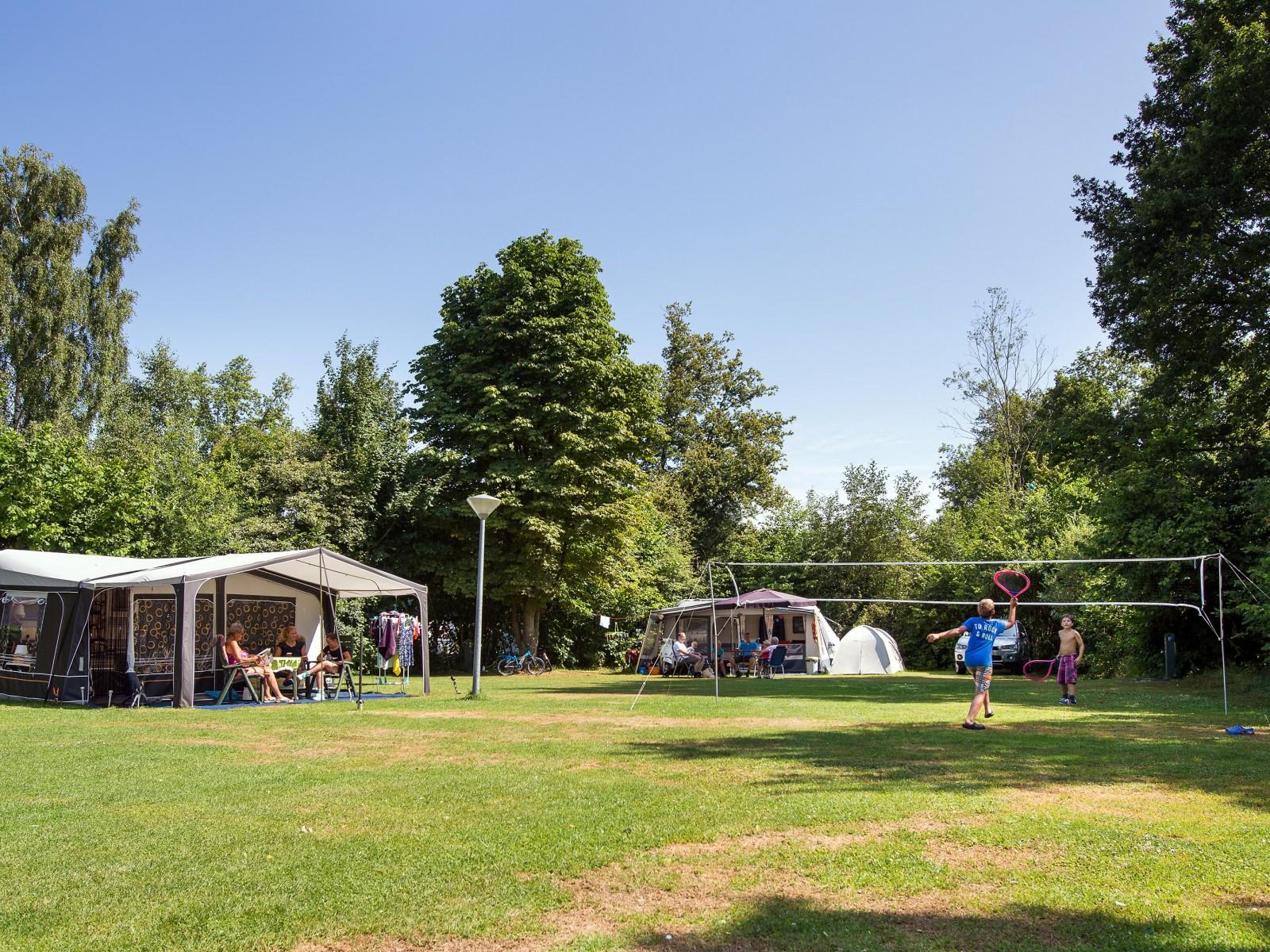 Vakantiepark kampeerplaats